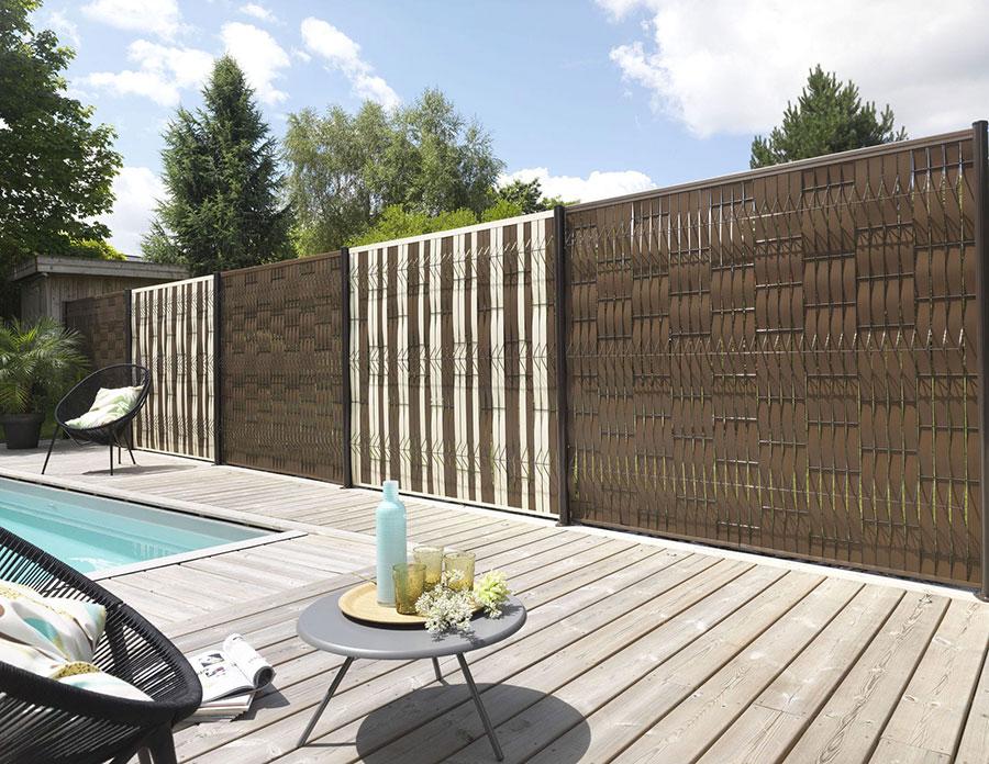 Recinzioni in legno t t living - Recinzioni in metallo per giardino ...